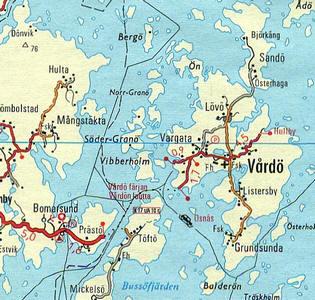 inseln zwischen finnland und schweden a